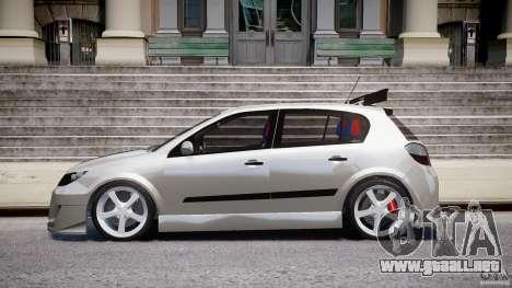 Opel Astra 1.9 TDI 2007 para GTA 4 left