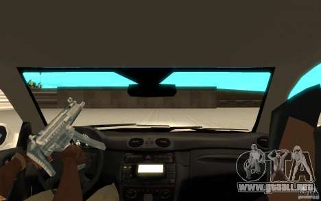 Mercedes-Benz CLK 500 Kompressor para la visión correcta GTA San Andreas