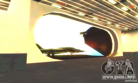 CVN-68 Nimitz para GTA San Andreas sucesivamente de pantalla