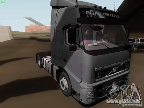 Volvo FH13 Globetrotter para GTA San Andreas left