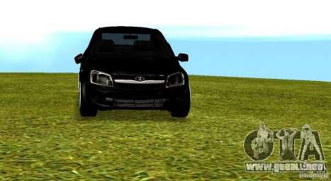 LADA Granta v2.0 para vista lateral GTA San Andreas