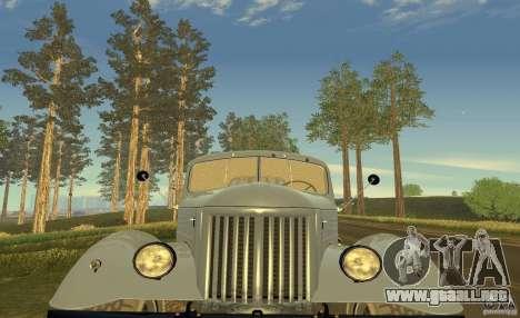 ZIL 164 Tractor para vista inferior GTA San Andreas