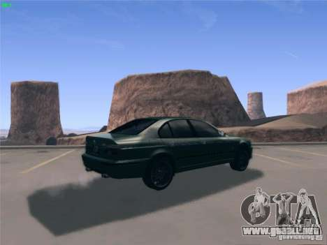 BMW M5 E39 2003 para GTA San Andreas left