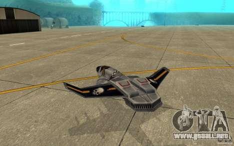 Hawk air Command and Conquer 3 para la visión correcta GTA San Andreas