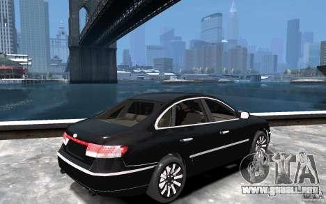 Hyundai Azera 2008 para GTA 4 visión correcta
