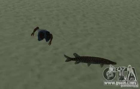 Nuevos peces para GTA San Andreas tercera pantalla