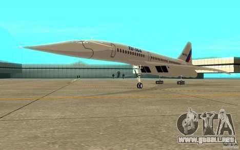 Tu-144 para GTA San Andreas left