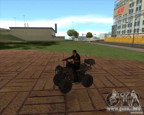 CoD MW 3 quadro para GTA San Andreas