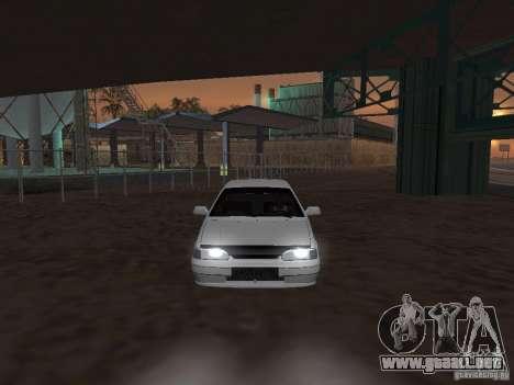 Vaz 2115 luz Tun v. 1.1 para la visión correcta GTA San Andreas