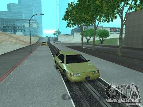 ENBSeries para PC débil para GTA San Andreas sucesivamente de pantalla