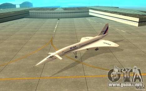 Tu-144 para GTA San Andreas
