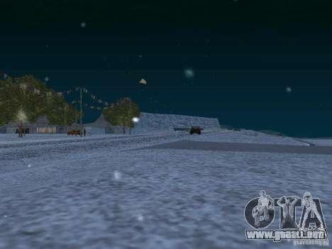 Nieve para GTA San Andreas décimo de pantalla