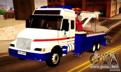Volvo NH12 Towtruck para GTA San Andreas
