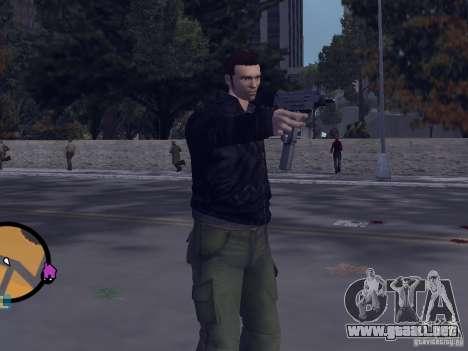 Claude HD from GTA III para GTA Vice City segunda pantalla