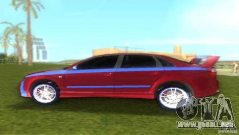 Audi A4 STREET RACING EDITION para GTA Vice City vista lateral izquierdo