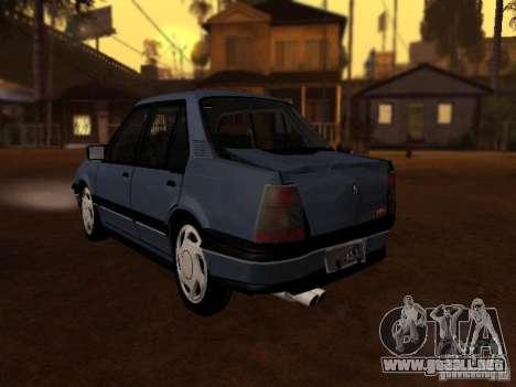 Chevrolet Monza GLS 1996 para GTA San Andreas vista hacia atrás