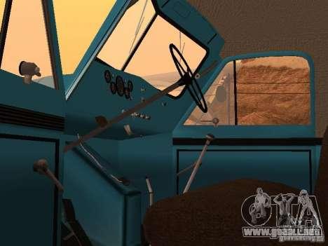 Camión GAZ 51 para GTA San Andreas vista hacia atrás