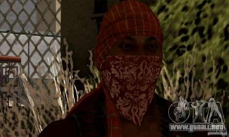 Pirata para GTA San Andreas segunda pantalla