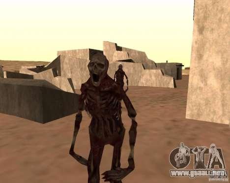 Zombie Half life 2 para GTA San Andreas segunda pantalla