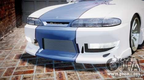 Nissan Silvia S14 [EPM] para GTA 4 vista desde abajo