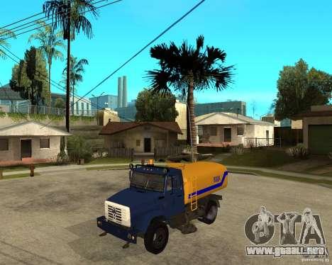 ZIL-433362 Extra Pack 2 para la visión correcta GTA San Andreas