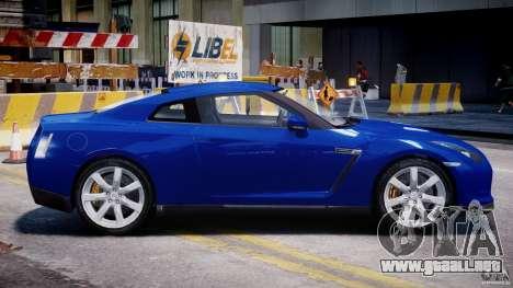 Nissan Skyline GT-R R35 para GTA 4 vista interior