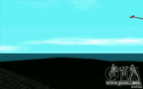 Supernatural ENB V.0.1 para GTA San Andreas segunda pantalla