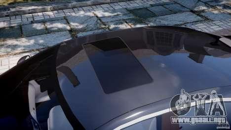 Mercedes-Benz S600 w221 para GTA 4 vista desde abajo