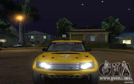 Bowler Nemesis para la visión correcta GTA San Andreas