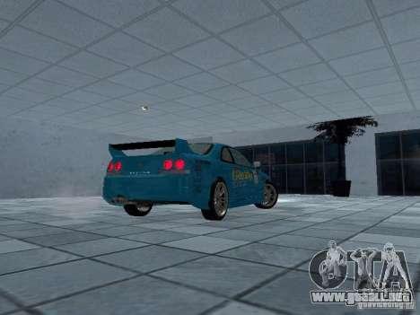 Nissan Skyline R 33 GT-R para la visión correcta GTA San Andreas