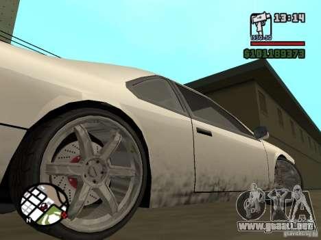 Nuevas piezas para tuning para GTA San Andreas segunda pantalla