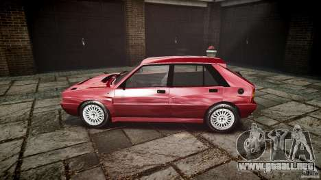 Lancia Delta HF Integrale Dealers Collection para GTA 4 left