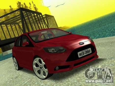 Ford Focus ST 2013 para GTA San Andreas