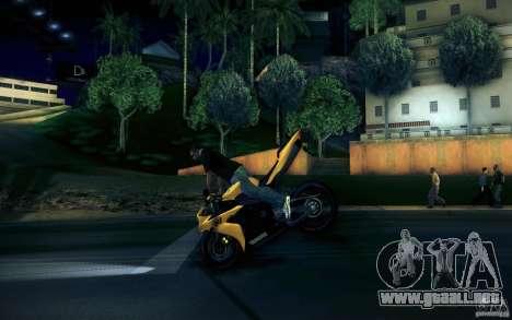 Yamaha YZF R1 para la vista superior GTA San Andreas