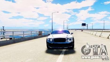 Bentley Continental SuperSports v2.5 para GTA 4 visión correcta