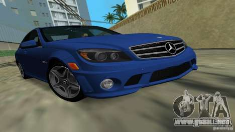 Mercedes-Benz C63 AMG 2010 para GTA Vice City
