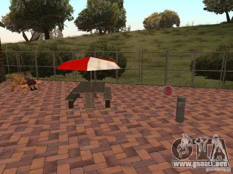 Nueva villa de CJ para GTA San Andreas séptima pantalla