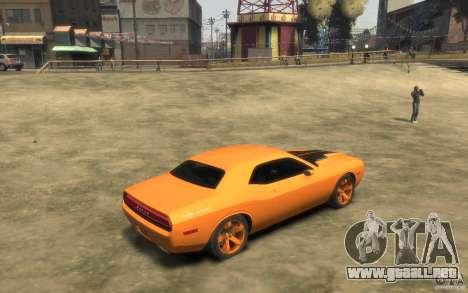 Dodge Challenger Concept para GTA 4 visión correcta