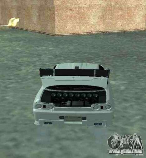 Nissan Skyline R32 GT-R para visión interna GTA San Andreas