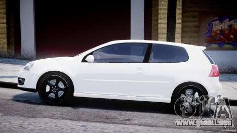 Volkswagen Golf 5 GTI para GTA 4 left