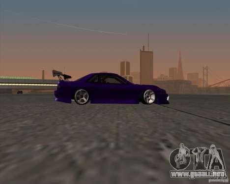 Nissan Silvia S13 Nismo tuned para GTA San Andreas vista hacia atrás