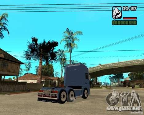 Scania 164L 580 V8 Black Beaunty para la visión correcta GTA San Andreas