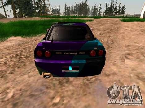 Nissan Sil80 Nate Hamilton para GTA San Andreas vista hacia atrás