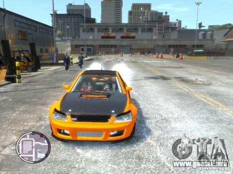 Sultan RS HD FreeStyle Team para GTA 4 Vista posterior izquierda