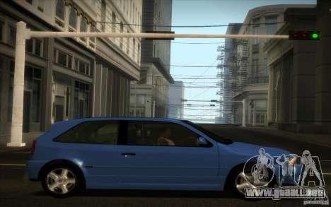 Volkswagen Golf GTI 1996 para visión interna GTA San Andreas