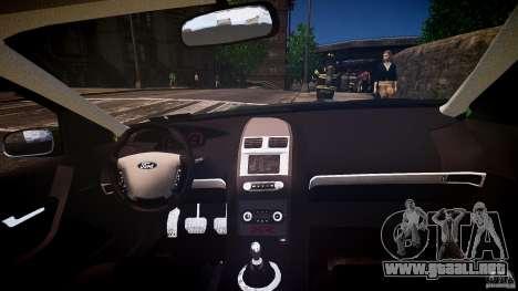 Ford Falcon XR8 2007 Rim 1 para GTA 4 vista desde abajo
