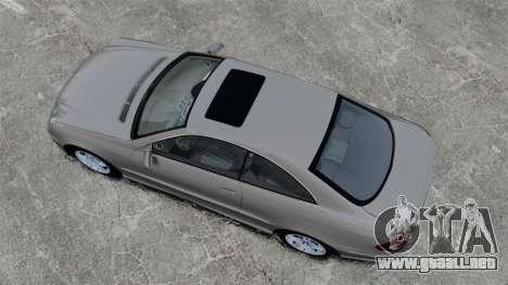 Mercedes-Benz CLK 55 AMG Stock para GTA 4 visión correcta