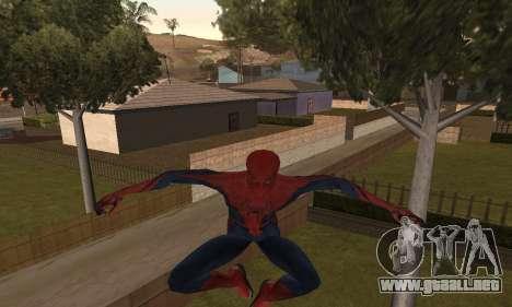 The Amazing Spider-Man Anim Test v1.0 para GTA San Andreas segunda pantalla
