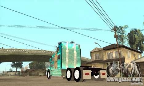 Peterbilt 387 piel 4 para la visión correcta GTA San Andreas