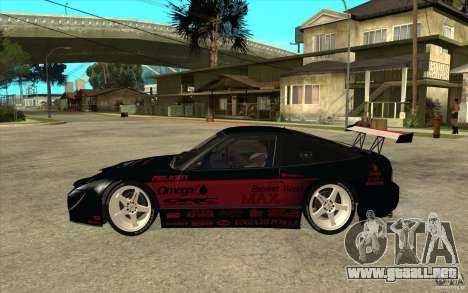 Nissan 180SX - Koguchi Power para GTA San Andreas left